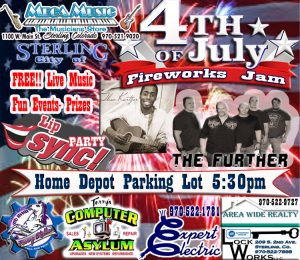 4th of JULY FIREWORKS JAM 2016