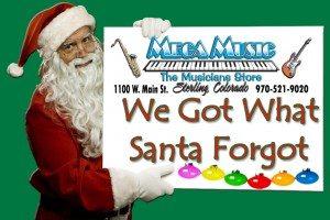Santa Holding SignWe GOT