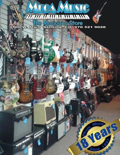 Guitar Wall 18 years
