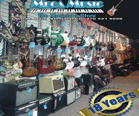 Website 18 year guitar wall