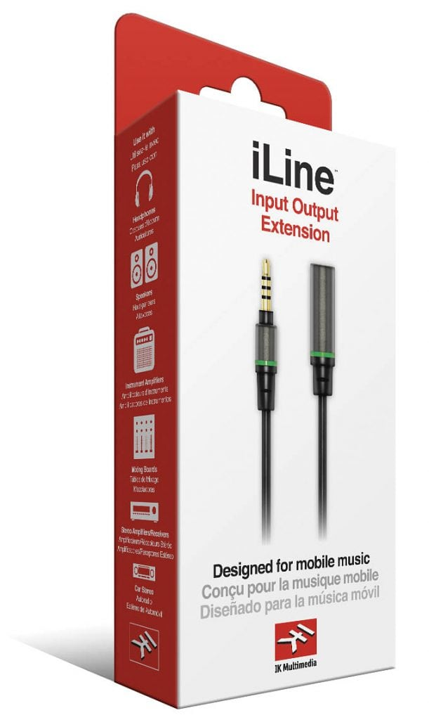 iLine Input Output Extension Cable