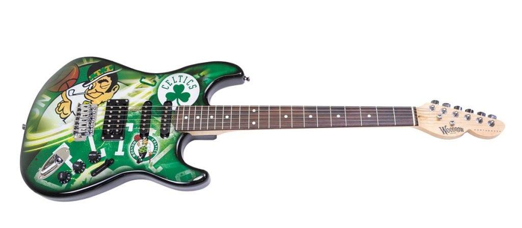 Boston Celtics Northender Guitar