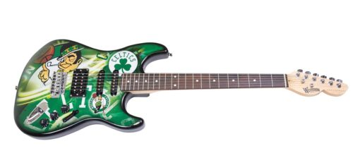Boston Celtics Northender Guitar