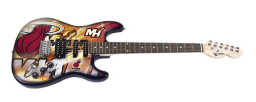 Miami Heat Northender Guitar