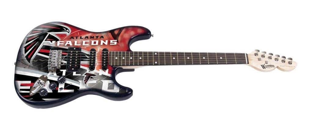 Atlanta Falcons Northender Guitar