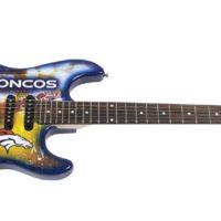 Denver Broncos Northender Guitar