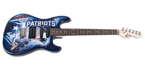 New England Patriots Northender Guitar