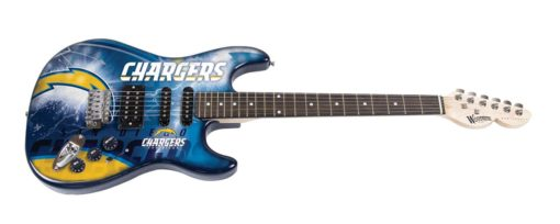 San Diego Chargers Northender Guitar