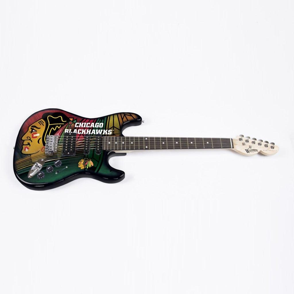 Chicago Blackhawks Northender Guitar