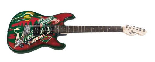 Minnesota Wild Northender Guitar