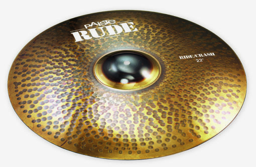 "PAISTE 22"" RUDE RIDE/CRASH"