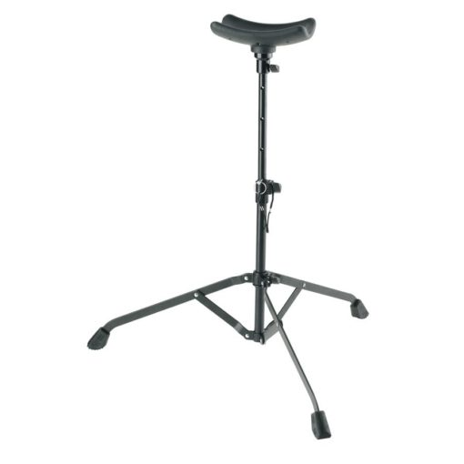K M BASS PLAYING STAND BLK