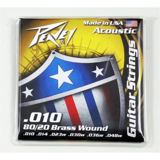 80/20 Acoustic Brass-Wound 10s