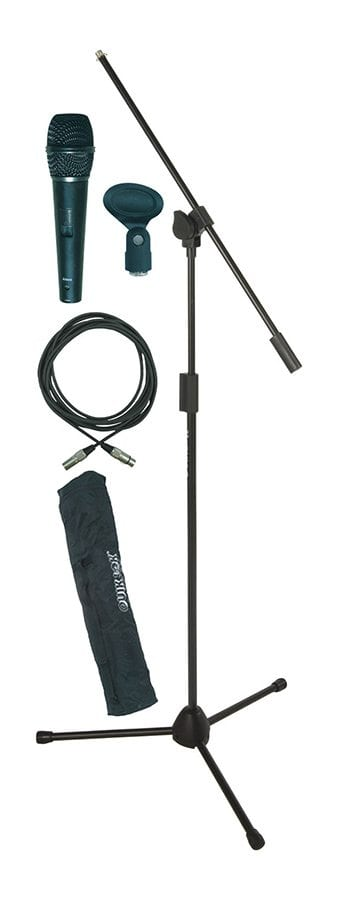Mic stand w mic.cable and bag