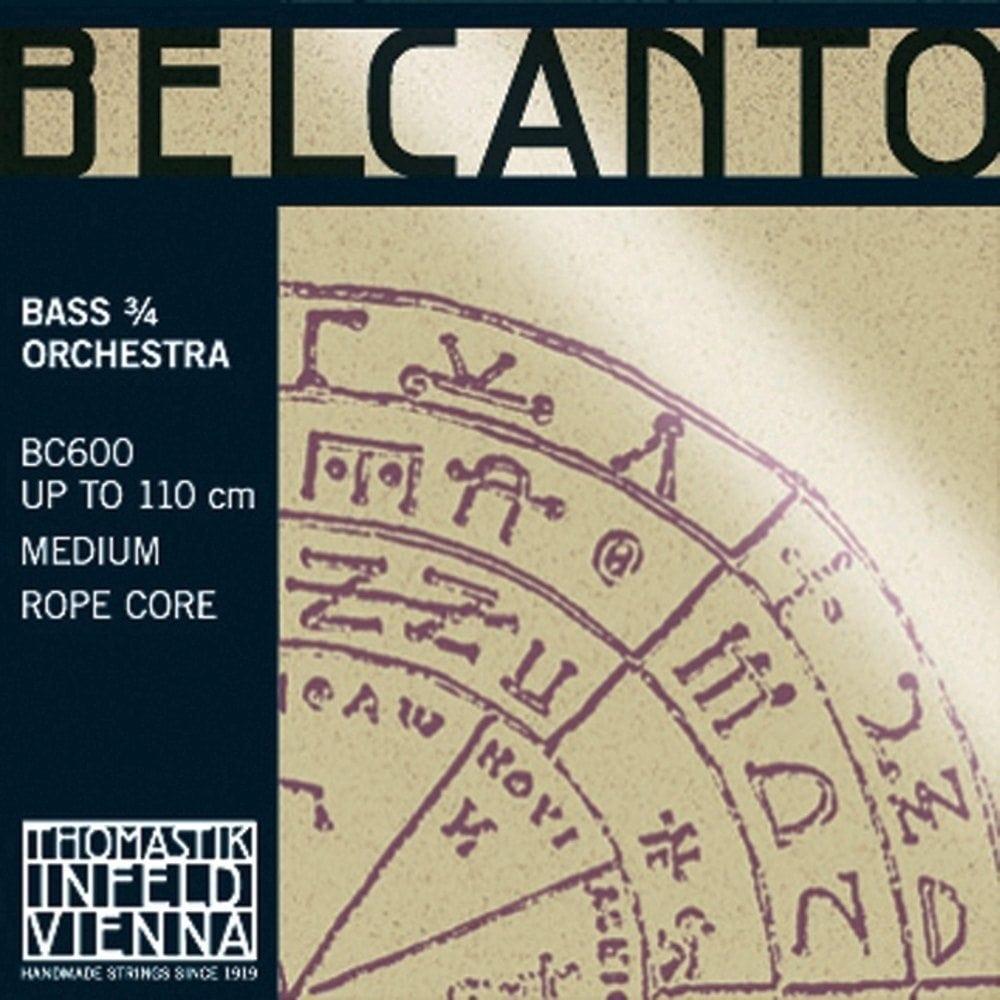 DR T BELCANTO BASS 3/4 SET