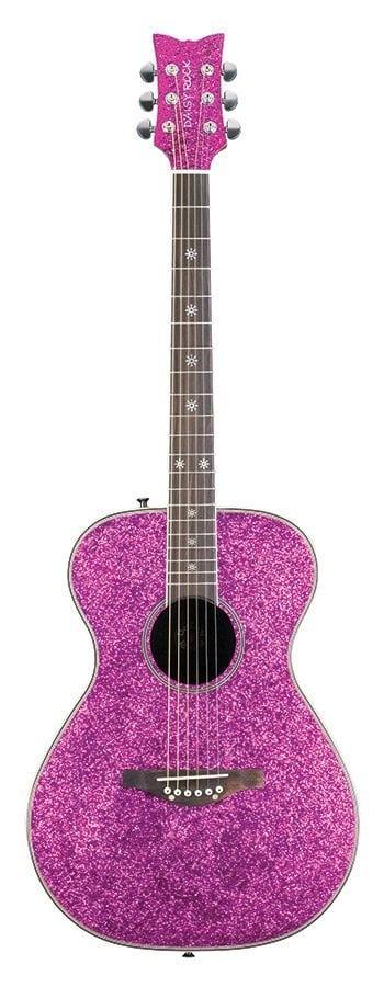 Pixie Acoustic Pink Sparkle