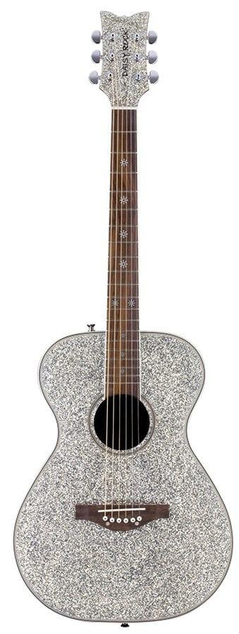 Pixie Acoustic Silver Sparkle