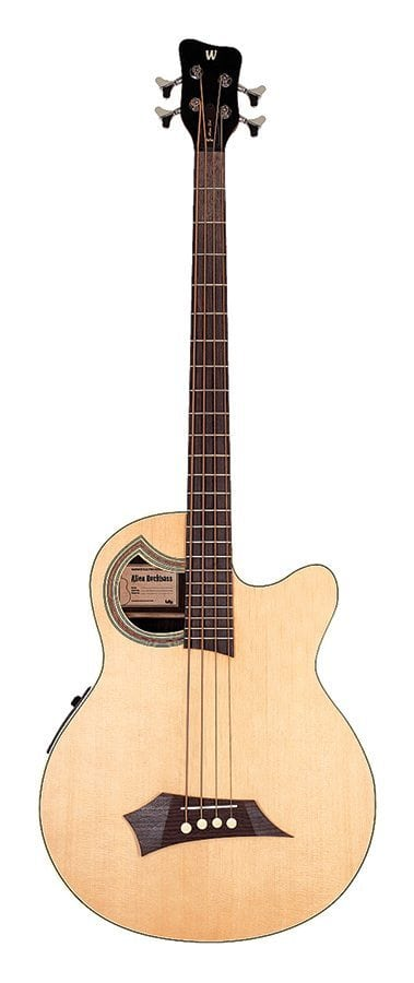 RB Alien Deluxe 4 Natural HP  Acoustic Bass