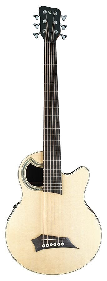 RB Alien Deluxe 6 Natural HP  Acoustic Bass