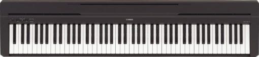 Entry level, 88-key black digital piano.
