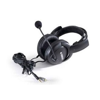 Optional additional or replacement headset with built-in microphone