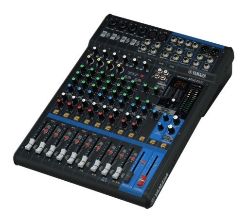 12-INPUT FOUR BUS MIXER WITH EFFECTS AND USB