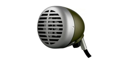 "SHURE ""GREEN BULLET"" MICROPHON"