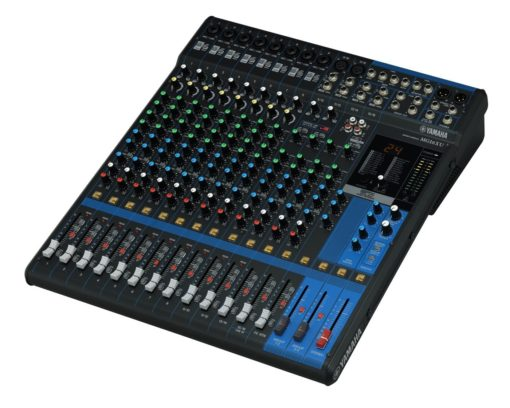 16-INPUT SIX BUS MIXER WITH EFFECTS AND USB