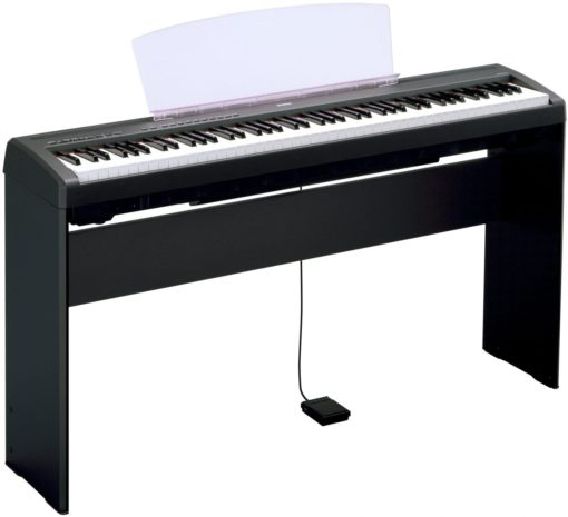 Black, wood, keyboard stand for P85, P95B, P35B and P105B
