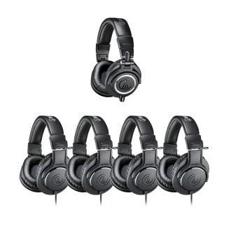 (1) ATH-M50x (4) ATH-M20x PACK5 pr