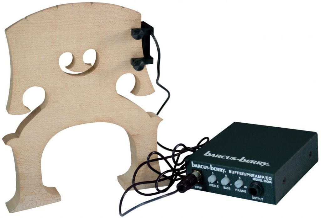 BASS TRANSDUCER AND PREAMP