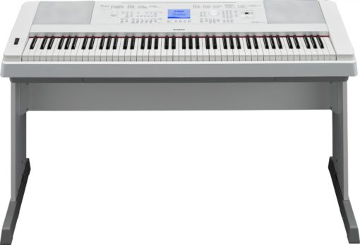 88-key, white Portable Grand.
