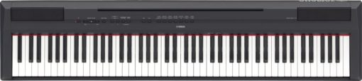 Black 88-note, weighted action digital piano with GHS action