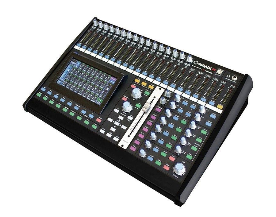 24-Input Tabletop Digital Mixer