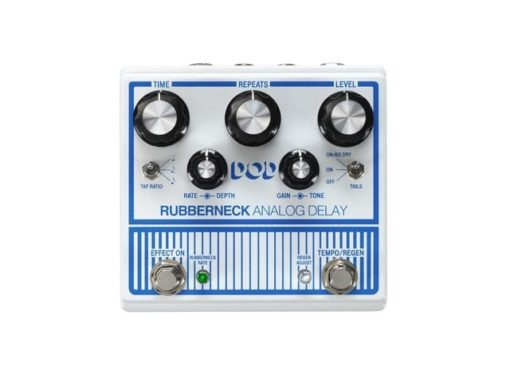 Double-Wide Analog Delay