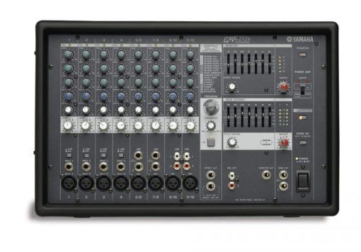 12 INPUT POWERED MIXER W/ 200 DUAL WATT AMP