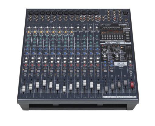 16 INPUT POWERED MIXER W/ DUAL 500 WATT POWER AMP
