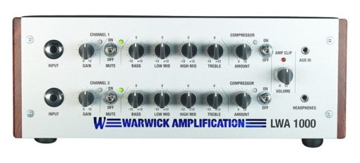 LWA 1000 Bass Head Silver