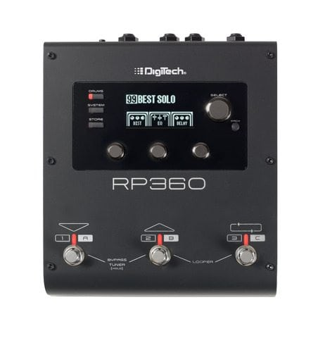 Guitar multi-FX pedal w/ USB