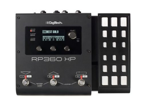 Guitar multi-FX pedal w/ XP