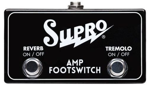 Supro Trem/Verb Dual Footswitch