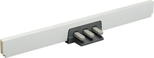 White, 3-pedal unit for DGX650WH