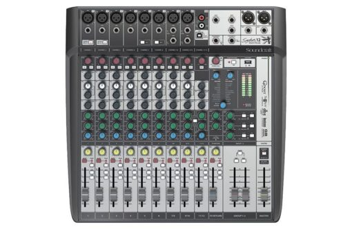 12 Channel Mixer w/ Recording