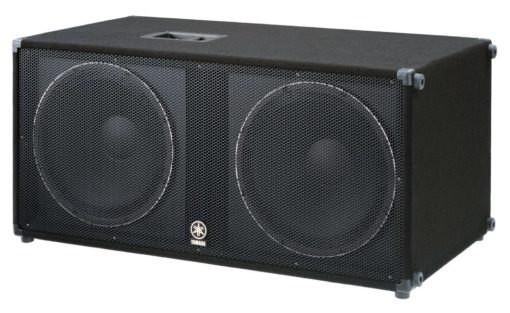 """CARPETED DUAL 18"""" SUBWOOFER"""