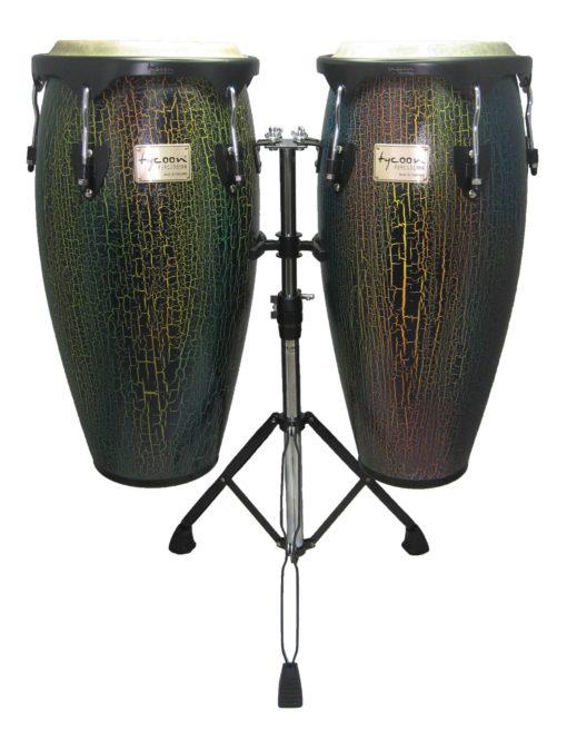 Supremo Series Select Dark Iris Finish Congas