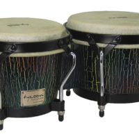 Supremo Select Series Bongos Dark Iris Finish