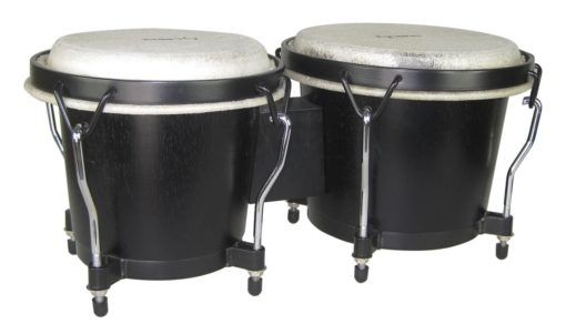 Ritmo Series Black Finish Bongos