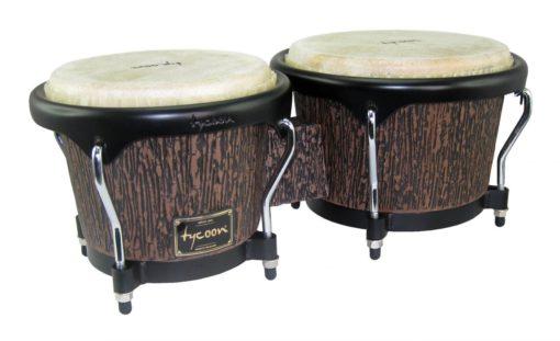 Supremo Select Series Bongos - Lava Wood Finish