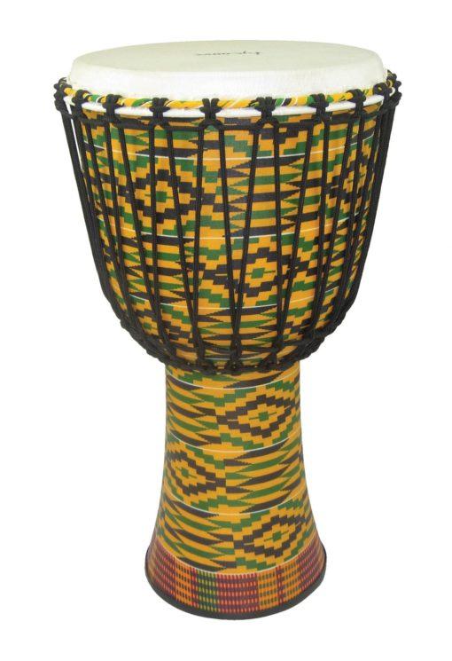 12 inch. Fiberglass Djembe - Rope Tuned