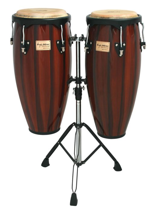 Artist Hand-Painted Series Brown Congas